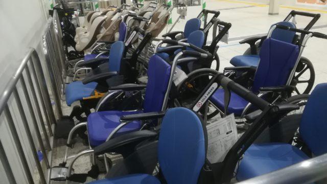 車椅子で飛行機の口コミ