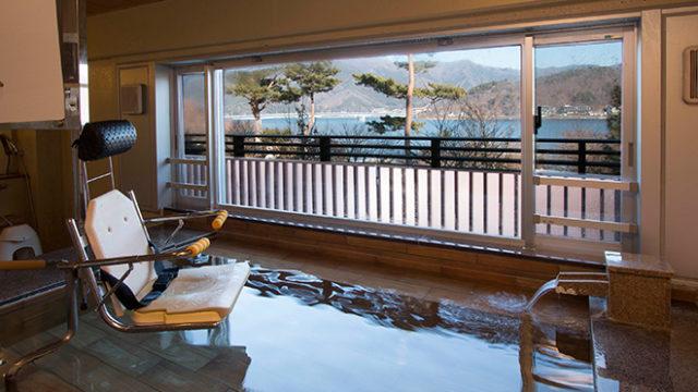 富士レークビューホテル貸切風呂